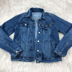 Gap Medium Wash Denim Jacket